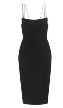 siyah elbise modelleri 4